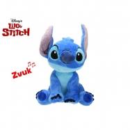 Lilo a Stitch - Stitch plyšový 25cm na baterie se zvukem 0m+