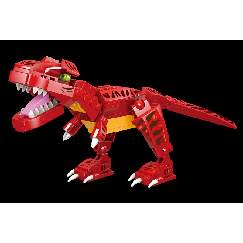 LiNoos klocki 133 szt. Tyranosaurus w pudełku