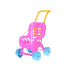 Kočík Buggy plastový ružový