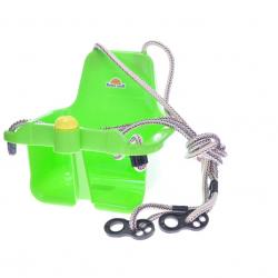 Houpačka s klaksonem zelená 18m+