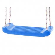 Hojdačka plastová (doštička) modrá v sieťke