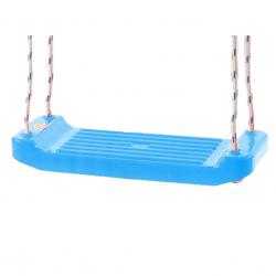 Hojdačka plastová (doštička) svetlo modrá v sieťke