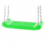 Hojdačka plastová (doštička) zelená v sieťke