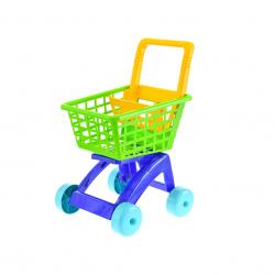 Nákupní vozík 40x33x58cm zelený v síťce