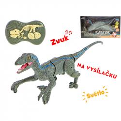 R/C dinosaurus 45cm na batérie 2,4GHz so svetlom a zvukom v krabičke