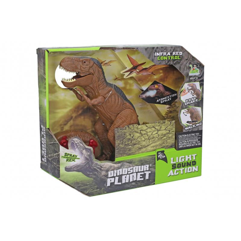 Dinozaur na infra ze światłem i dźwiękiem 36 cm w WBX
