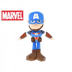 Hrdinové Marvel plyšový Kapitán Amerika 56cm 12m+