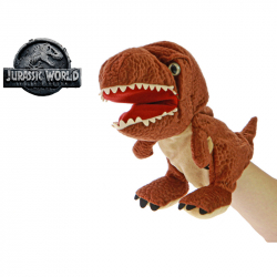 Pluszowa pacynka Tyrannosaurus Jurassic world 25 cm