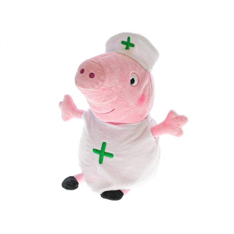 Pluszowa Peppa doktor 20 cm 0m+