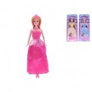 Panenka princezna kloubová 29cm 3druhy na kartě