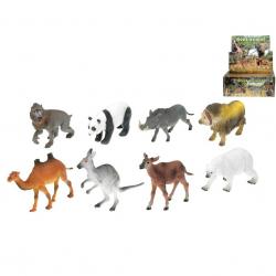 Zvířátka safari 12-18cm 8druhů