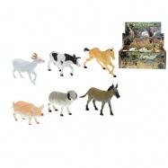 Zvieratká farma 14-17cm 6druhů 36ks v DBX