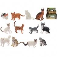 Kočka domácí /divoká 5-7cm 12druhů 72ks v DBX