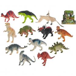 Dinosaurus 14cm 12druhů 36ks v DBX