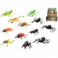 Hmyz strečový 8-13cm 12druhů 36ks v DBX