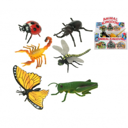 Insekty plastikowe 6 szt. 11-17 cm