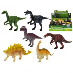 Dinosaurus 14-16cm 6druhů 36ks v DBX