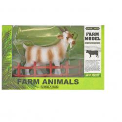 Koza 13cm s ohradou v krabičke