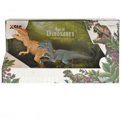 Dinosaurus 15cm 2ks v krabičke