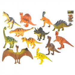 Dinosaury 12-14cm 12ks v sáčku