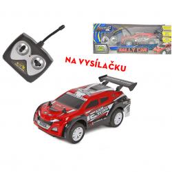 R/C auto sportovní 27 MHz 16cm na baterie plná funkce v krabičce