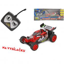 R/C auto terénní 27 MHz 15cm na baterie plná funkce v krabičce