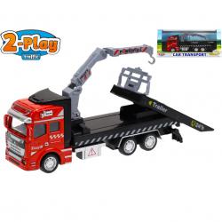 Cieżarówka metalowa 19 cm pull back w WBX
