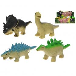 Dinozaur 4 wzory 13-17 cm