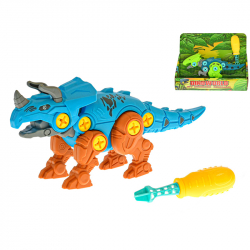 Dinosaurus skládací 18cm 2druhy v krabičce