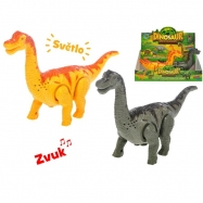 Dinozaur na baterie z dźwiękiem 23 cm