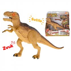 Tyranosaurus 25 cm ze światłem i dżwiękiem
