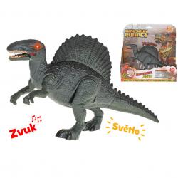 Dinozaur Spinosaurus 24 cm,światło,dźwięk