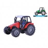 Traktor 16cm na setrvačník 2barvy v krabičce