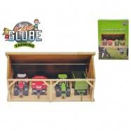 Drewniana farma 1:50 w pudełku