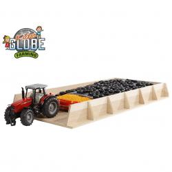 Silo drevené 60x30x6cm 1:32 v krabičke
