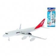 Letadlo dopravní 30cm zpětný chod na kartě