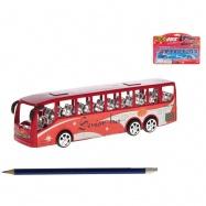 Autobus 22cm na setrvačník 2barvy na kartě