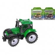 Traktor 12,5cm na setrvačník 3barvy na kartě