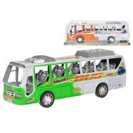 Autobus 37cm na setrvačník 2barvy v krabičce