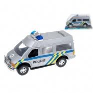 Auto polícia 27cm na zotrvačník v krabičke