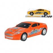 Auto sportovní 23cm na setrvačník 2 barvy v krabičce
