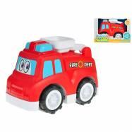 Auto hasičské veselé 25cm voľný chod 18m + v krabičke