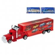 Kamion na setrvačník 32cm 3barvy na kartě