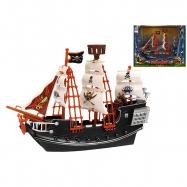 Pirátska loď 23cm v krabičke