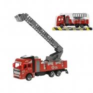 Auto hasiči 17cm na setrvačník 2druhy v krabičce