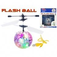Helikoptéra míček Diamond XL 14cm svítící reagující na pohyb ruky s USB kabelem v krabičce