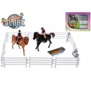 2 konie 13 cm  z akcesoriami w WBX