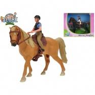 Koník s jezdcem 2 barvy v krabičce
