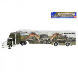 Cieżarówka wojskowa metalowa 35 cm w WBX