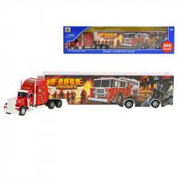 Cieżarówka strażacka metalowa 35 cm w WBX